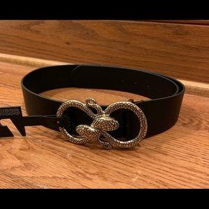 ❄️3 for $30 Express | Snake Belt in Black